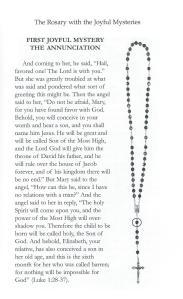 Mary 1 Joyful Scripture